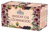 GREŠÍK Ovocný čaj s echinaceou 20 n.s přebal