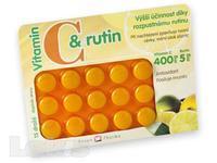 Rosen C+rutin 400 mg drg.15 - nachlazení, otok sliznice