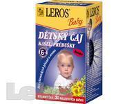 LEROS Dětský čaj Kašel+průdušky n.s.20x1.5g