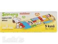 Náplast ASO Snoopy 19x72mm Outdoor PLS 9ks