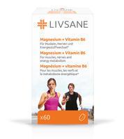 LIVSANE MAGNÉZIUM + VITAMÍN B6 TABLETY 60KS