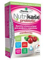 NUTRIKAŠE PROBIOTIC - CRANBERRIES 180G (3X60G)