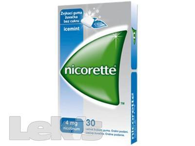 NICORETTE ICEMINT GUM  30X4MG