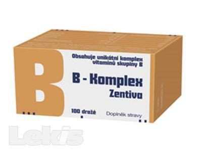 B-Komplex Zentiva 100 dražé