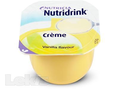 NUTRIDRINK Creme s vanilkovou příchutí 4x125ml