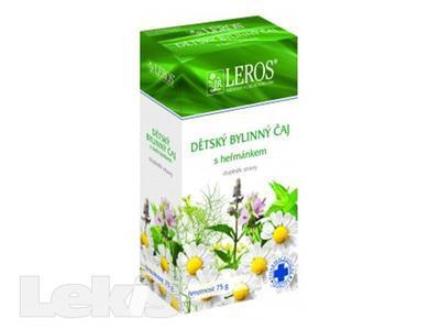 LEROS Dětský čaj s heřmánkem 75g
