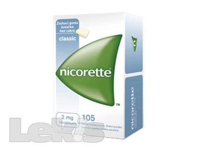 NICORETTE Classic Gum 2mg 105x2mg