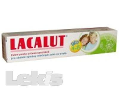 LACALUT dětská zubní pasta 4-8  50 ml