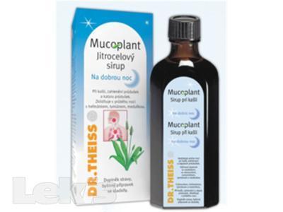 Mucoplant jitrocelový sirup na dobrou noc  128 g
