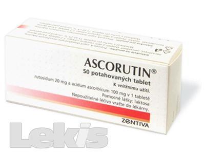ASCORUTIN (BLISTR) tbl obd 50
