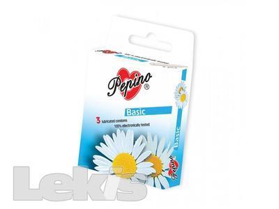 Prezervativ - kondom Pepino Basic 3ks