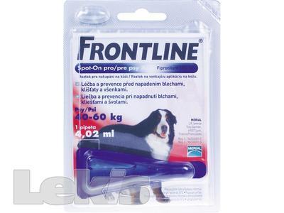 FRONTLINE COMBO SPOT ON DOG XL 1X1 PIP.4.02ML 40-60KG
