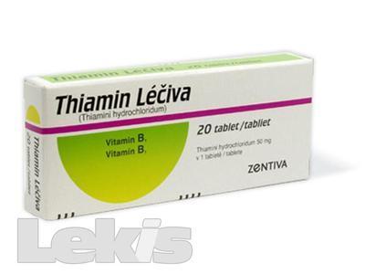 THIAMIN LECIVA tbl 20x50mg(blistr)