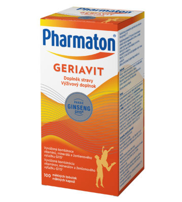 PHARMATON GERIAVIT CPS. 100 - 1