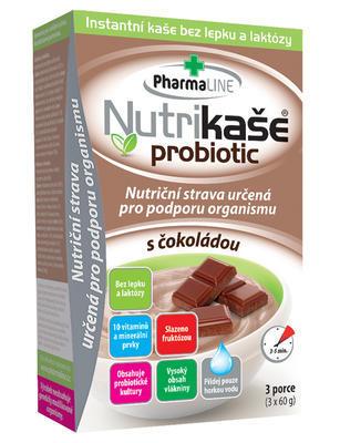 Nutrikaše probiotic - s čokoládou 180g (3x60g)