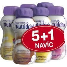 NUTRIDRINK BALÍČEK 5+1 POR.SOL.6X200ML NOVÝ -objednávat max.4 balení kvůli váze balíku