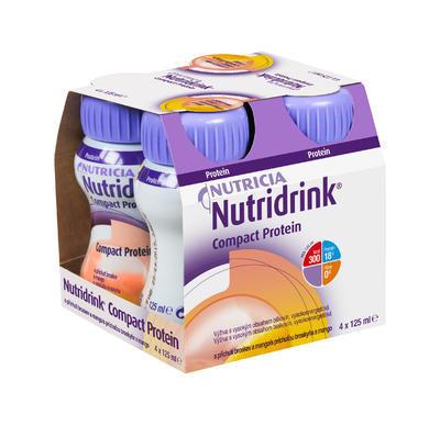 NUTRIDRINK COMPACT PROTEIN BROSK.MANGO 4X125ML NOVÝ