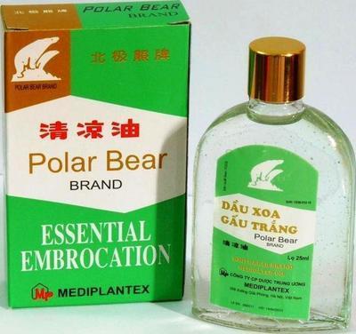 ESSENTIAL Embrocation liq. 18ml (Polární medvěd)