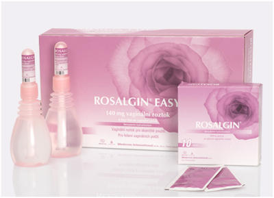 ROSALGIN EASY 140MG VAG.SOL.5X140ML