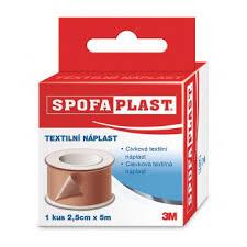 Náplast Spofaplast 132 2,5cmx5m SB Galmed