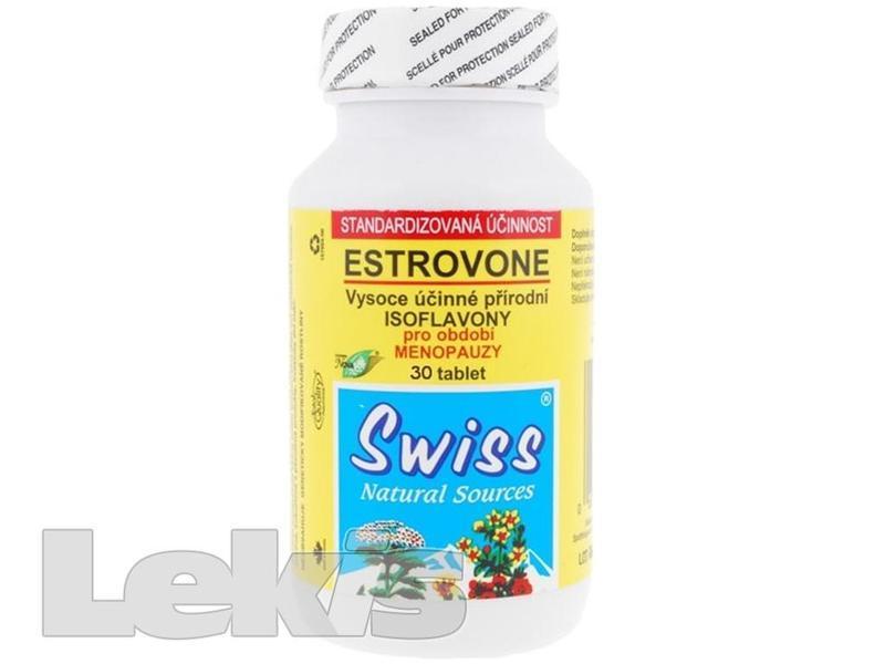 SWISS Estrovone isoflavony tbl.30