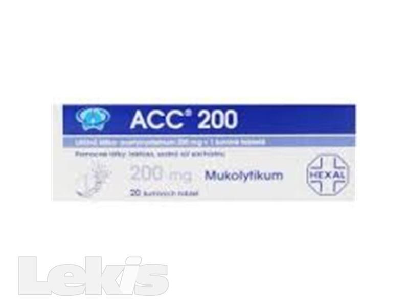 ACC 200 NEO tbl eff 20x200mg