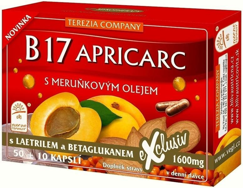 B17 - APRICARC S MERUŇKOVÝM OLEJEM CPS 50+10 (TEREZ.COMP.)