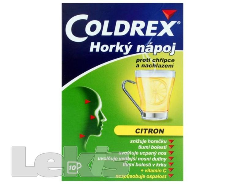 Coldrex horký nápoj citron por.plv.sol. 6ks