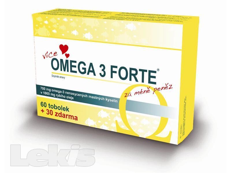 Omega 3 FORTE tob.60+30 FARMAX
