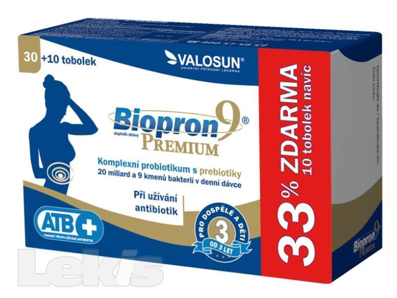BIOPRON9 PREMIUM TOB.30 + 10 ZDARMA