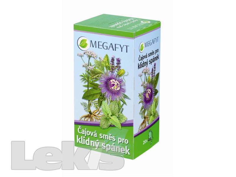 Megafyt Čaj.směs pro klidný spánek por.spc.20x2.1g