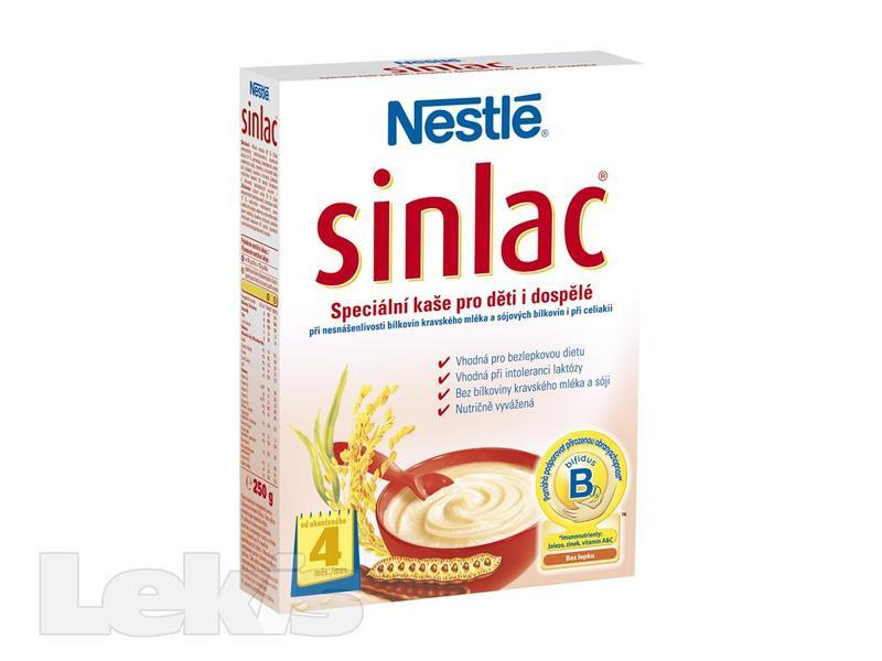 NESTLE Sinlac speciálni kaše 250g-od 4.mes.
