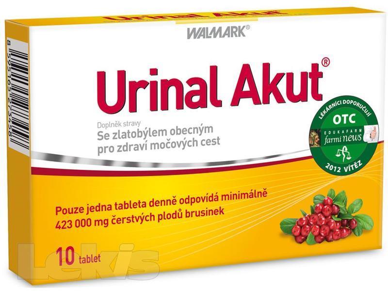 WALMARK URINAL AKUT TBL.10 BLS.