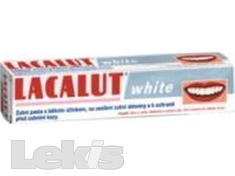 LACALUT WHITE ZUBNÍ PASTA 75ML BĚLÍCÍ BEZ PEROXIDŮ