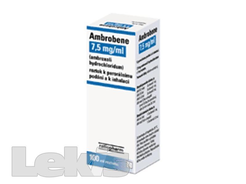 AMBROBENE 7.5 MG/ML POR SOL 1X100ML