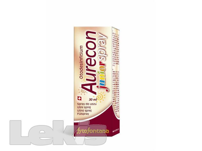 Aurecon ušní sprej Junior 30 ml