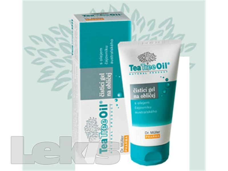 Tea Tree oil čist.gel na obličej 150g (Dr.Müller)