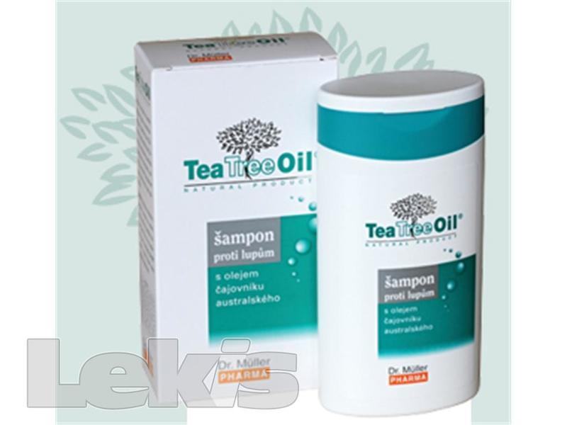 Tea Tree Oil šampón proti lupům 200ml (Dr.Muller)