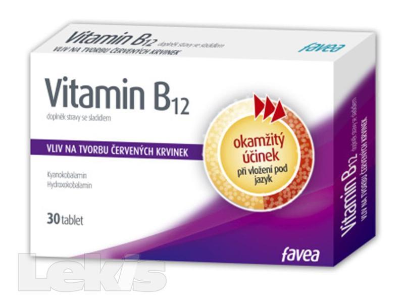 FAVEA VITAMIN B12 TBL.30
