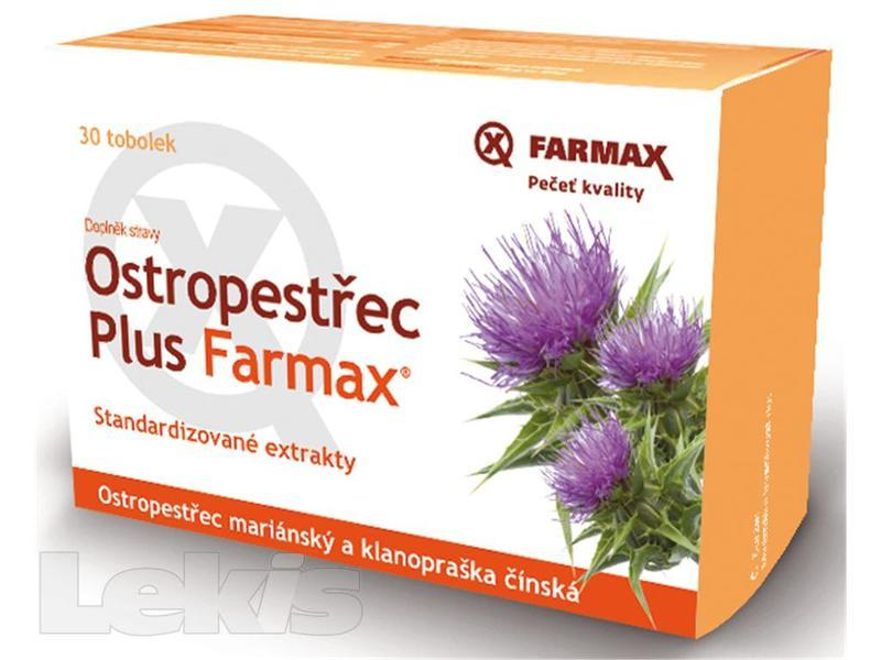 Ostropestřec Plus Farmax tob.30 250mg