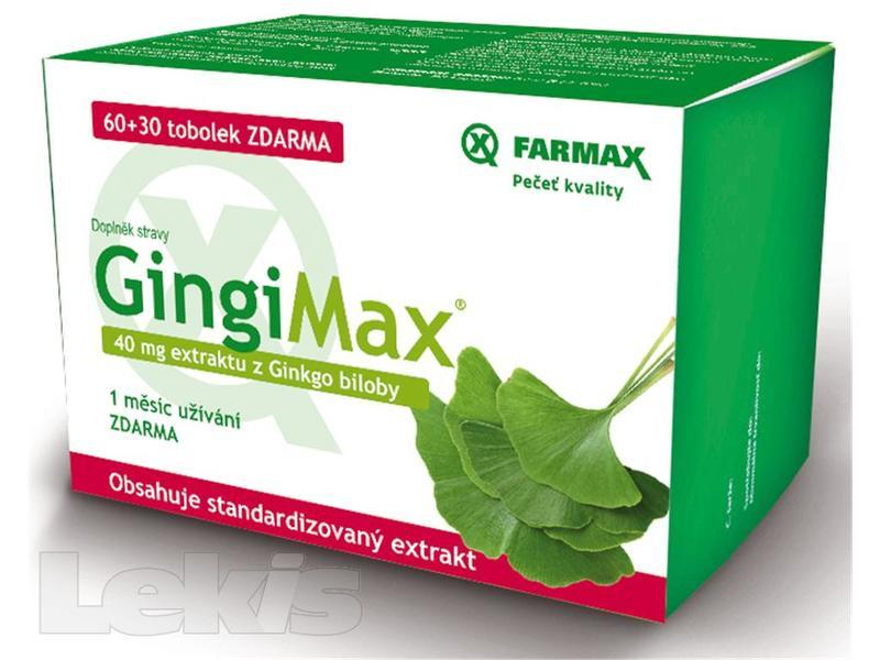 GingiMax tbl.90 40 mg