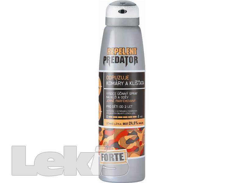 REPELENT PREDATOR FORTE SPRAY 25% 150ML