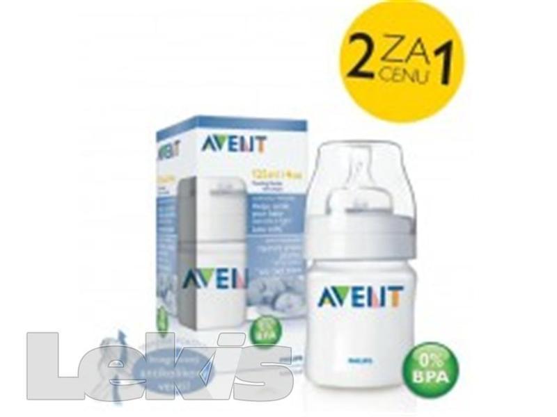 AVENT Láhev 125ml PP bez BPA (měkká polypropylén)