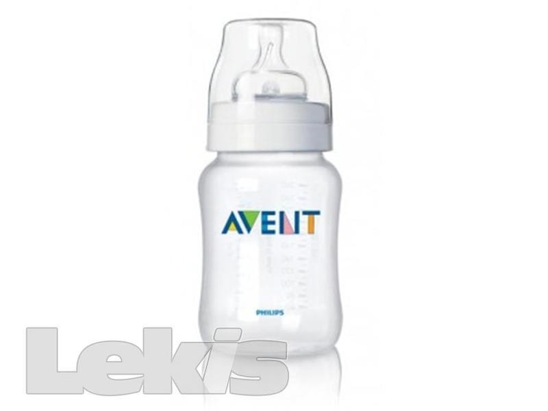 AVENT Láhev 260ml PP bez BPA měkká polypropyl.