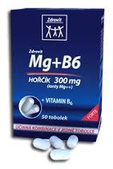 ZDROVIT MAXIMAG HOŘČÍK 375MG+B6 TOB.50