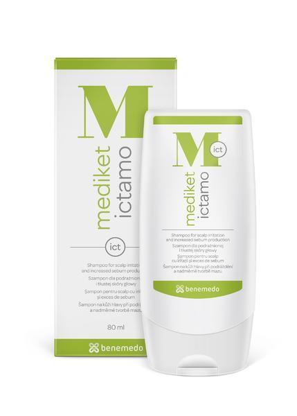 MEDIKET Ictamo šampon 80ml