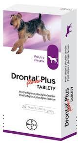 Drontal Plus flavour a.u.v. pro psy 24tbl